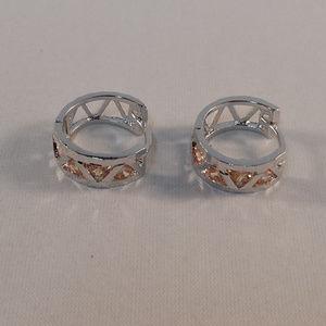 Jewelry - 18K Gold Filled Morganite Topaz Zircon Earrings